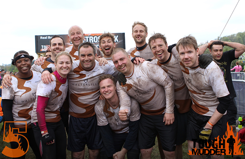 Walter Lilly Tough Mudder Experience: Culden Faw Estate, Henley-on-Thames