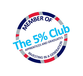 Walter Lilly commits to the next generation by joining The 5% Club