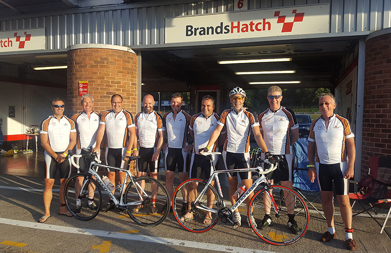 Walter Lilly completes their 6th consecutive Cyclothon UK